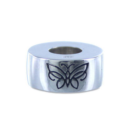 925 Silver Butterfly - Cremation Bead