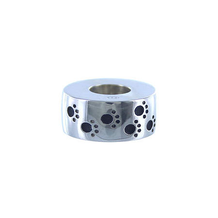 925 Silver Paws to Heaven - Cremation Bead