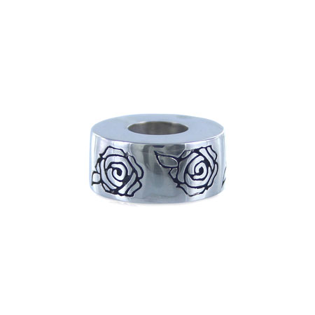 925 Silver Roses - Cremation Bead